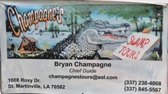 Champagnes Swamp Tour