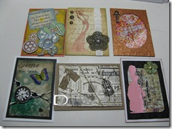 ATC steampunk swap   2011