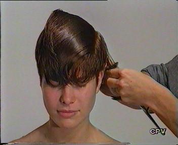 Short Judi Dench Haircut Instructions The