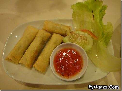 Popia Goreng Ala Cina Restoran Hotel Seri Malaysia