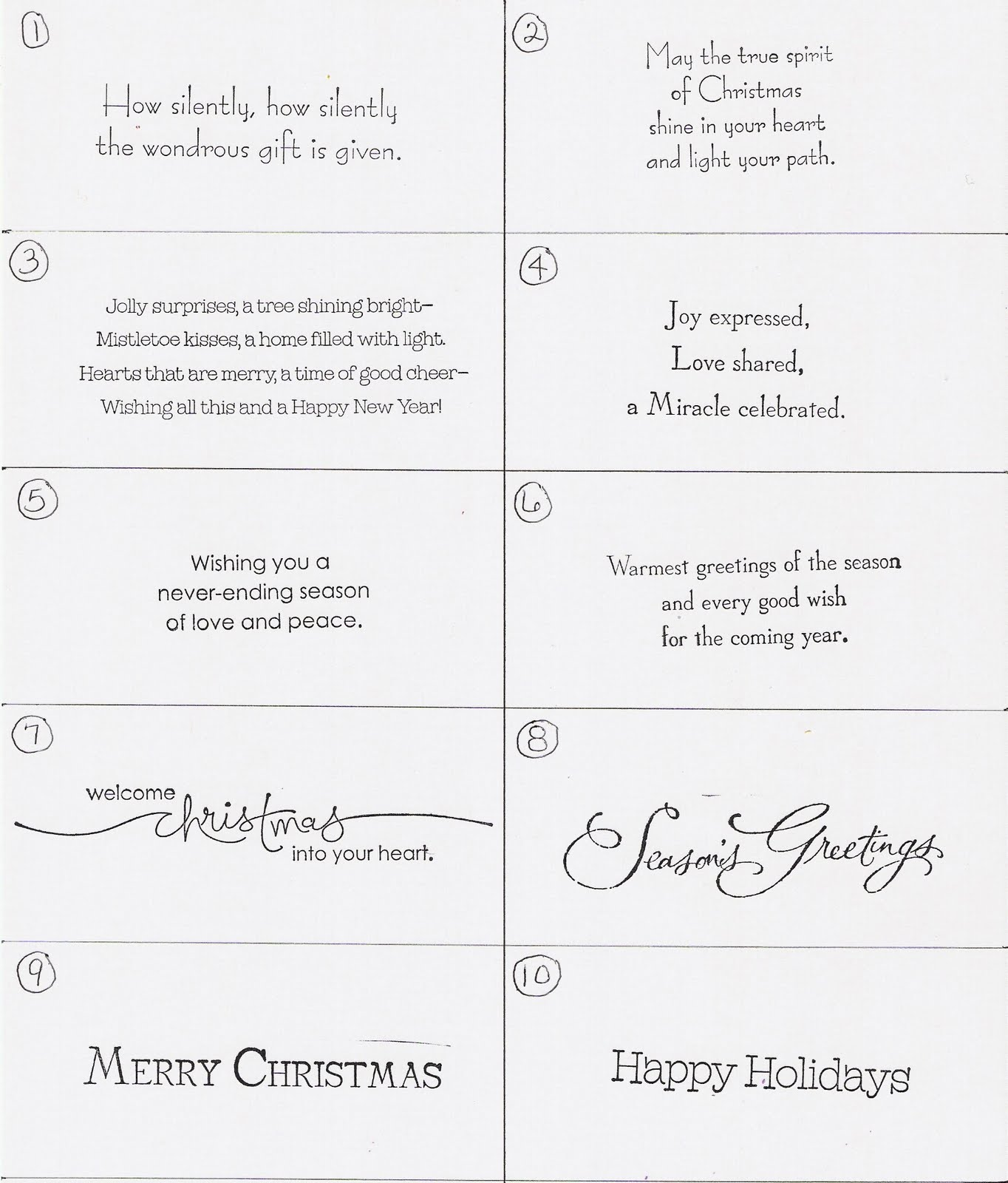 Christmas Sayings Quotes 4 Quotes Links