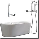 overstock freestanding tub