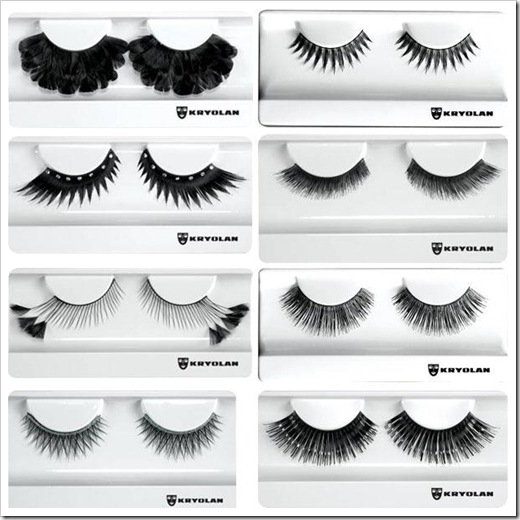 Kryolan-Holiday-2010-False-eyelashes-collection