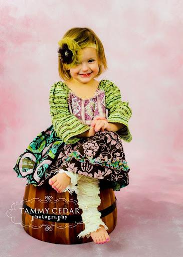 Matilda Jane Toddler Ruffle Dress
