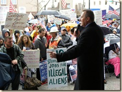 Shurtleff at tea party