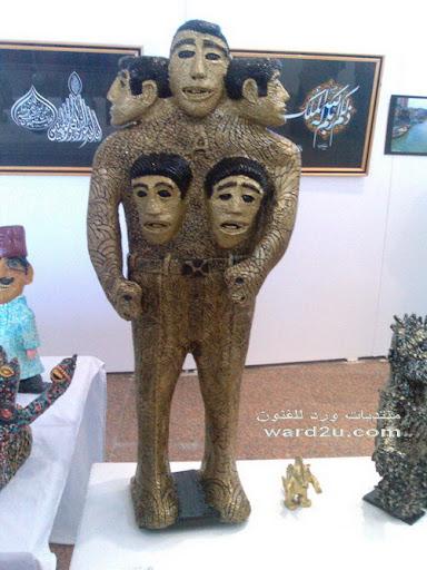 احمد طايع والنحت بالصابون والبطاطس