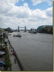 Walk across London Bridge - so took a picture of Tower Bridge