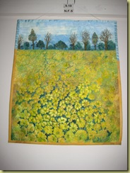 Rapeseed Filed - Stitch to Paint