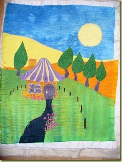 dyed sampler quilt 001