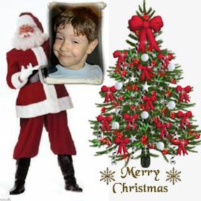 Mikuláš pri vianočnom stromčeku ZGLy-13d