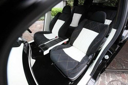 Interior minivan Honda