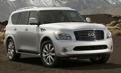 New Infiniti QX56 debuted in the USA