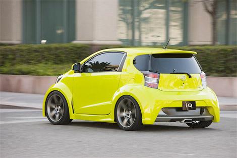 Minicar Toyota iQ