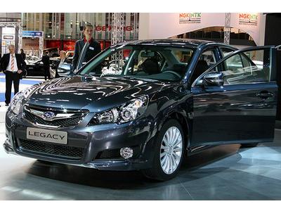Subaru has presented in Frankfurt a updated Legacy