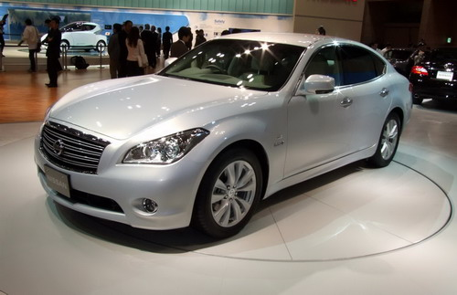 Nissan Fuga of a New Generation