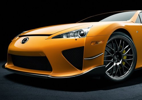 Orange Lexus