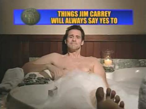 top ten things jim carrey will always say yes to