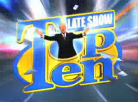 late show top ten