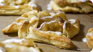 Baked pastries - Apple Pinwheel