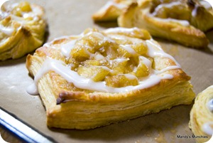 Baked pastries - Apple Turnover Square