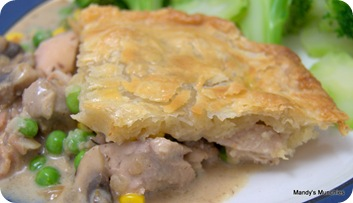 Chicken Thigh Pie
