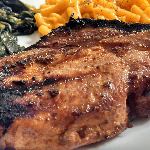 Texas Two-Step Pork Chops
