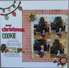 Blake 2nd- Christmas Cookie