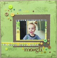 Blake 2nd- little mowgli