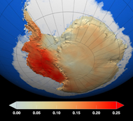 2009 analysis of Antarctic temperature changes