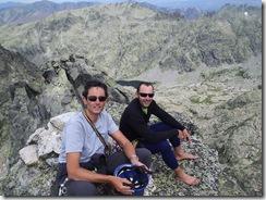 Foto de cumbre en el Risco Moreno
