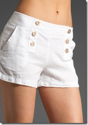 Linen Sailor Shorts