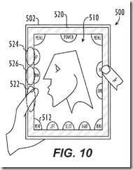 Electronic Device Having Display and Surrounding Touch Sensitive Bezel for User Interface and Control (US20060238517)