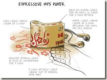 Philips E skin Expressive MP3 Player