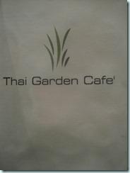 Thai Garden Cafe–best som tum in London!