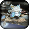 Labradorite Rainflower