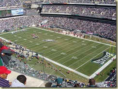 October 2010 - Eagles Game (3)