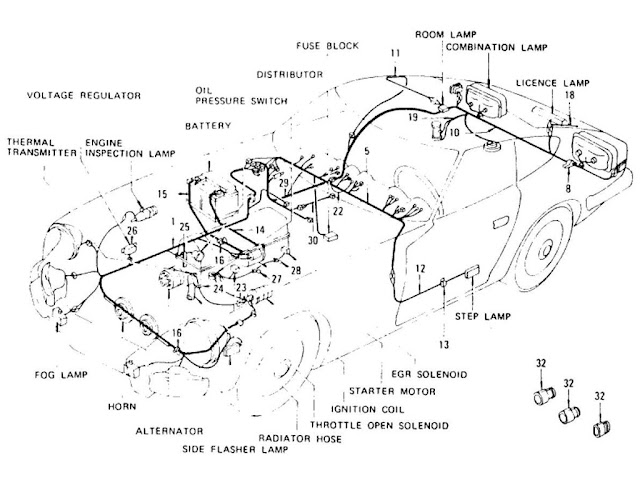 datsun 1600 wiring diagram