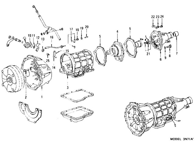 41te transmission valve body