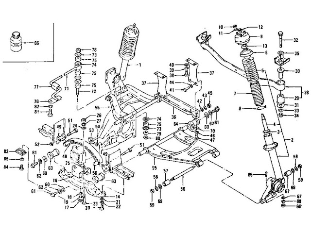 link assembly trailing rear suspension genuine mg rover at