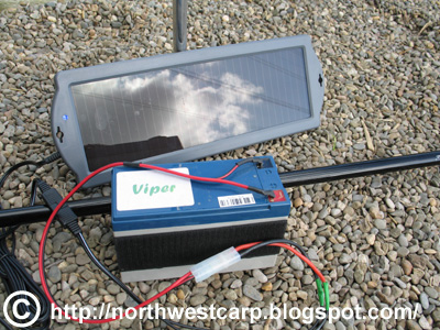Solar charger , worth having if you are fishing long sessions!