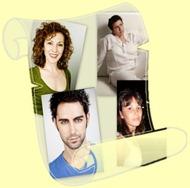 Esperanza de la Vega, David Tortosa, Marta y Sara Prieto Tarazaga