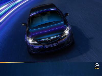Обои Opel Astra