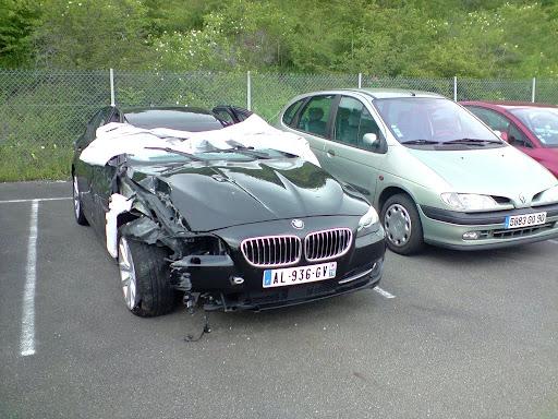 Авария 2010 BMW 5 серии седан