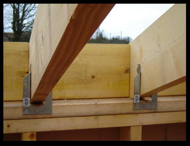 projet de maison ossature bois avec toiture simple pente 17 messages. Black Bedroom Furniture Sets. Home Design Ideas