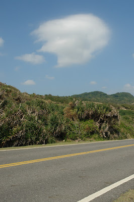 A quite corner of Kenting; the bikers were there too.