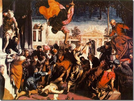 tintoretto miracle of the slave