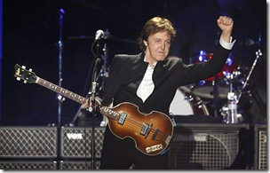 paul mac cartney ex beatles no brasil