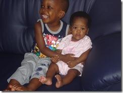 Siblings bonding