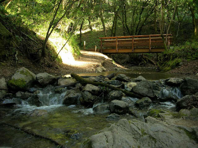 Bridge across Adobe Creek