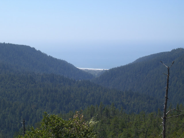Waddell Beach as viewed from McCrary Ridge